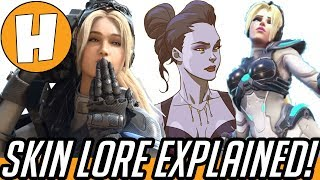 Overwatch - Nova Widowmaker, Blizzard Skin Lore Explained! | Hammeh