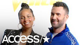 'The Voice's' Adam Levine & Alicia Keys: Adam Reveals What Became Of His Blake Shelton China