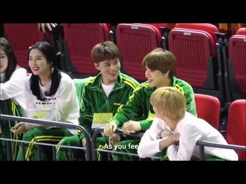 NCT & RED VELVET ALL INTERACTIONS ON ISAC 2019