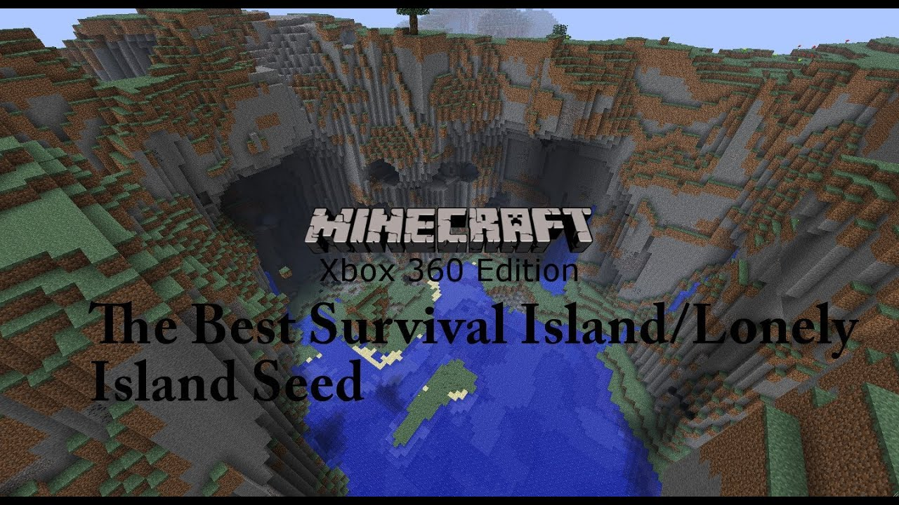 The Best Survival Island Seed Minecraft Xbox 360 Ps3 New