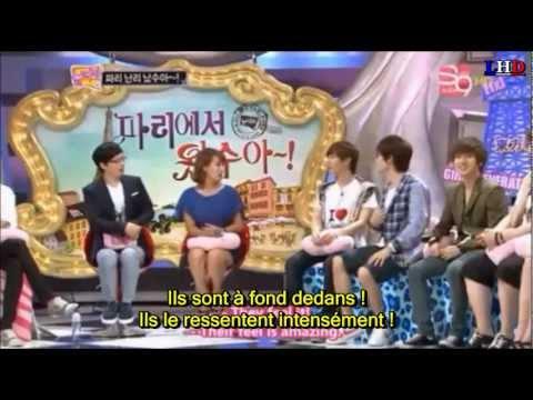 [LHD] SUPER JUNIOR Eunhyuk et Leeteuk parlent des fans de Paris VOSTFR [S03-21/23]