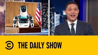 A Self-Driving Tesla's Heartless Hit and Run   The Daily Show With Trevor Noah