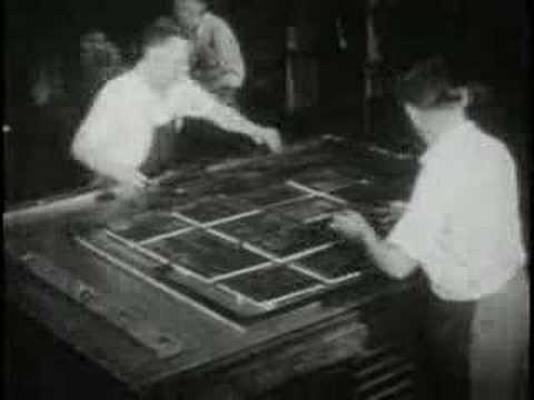 Letterpress Printing (1947)
