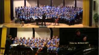 When I Close My Eyes - ACDA 2013 Children's Honor Choir w/ Jim Papoulis