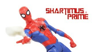 Marvel's Spider-Man Into The Spider-Verse Movie Basic 6 Inch Action Figure Toy Review