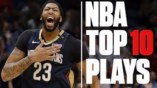 NBA Top 10 Plays: Steph Curry's buzzer-beater, Kawhi's no-look steal, Anthony Davis' slam