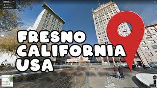Let's take a virtual tour of Fresno California in the USA!