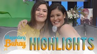 Magandang Buhay: Kiana shares how Ria comforted her during her hard times