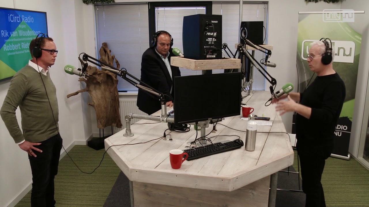 Robbert van Rietschoten bij iCircl Radio