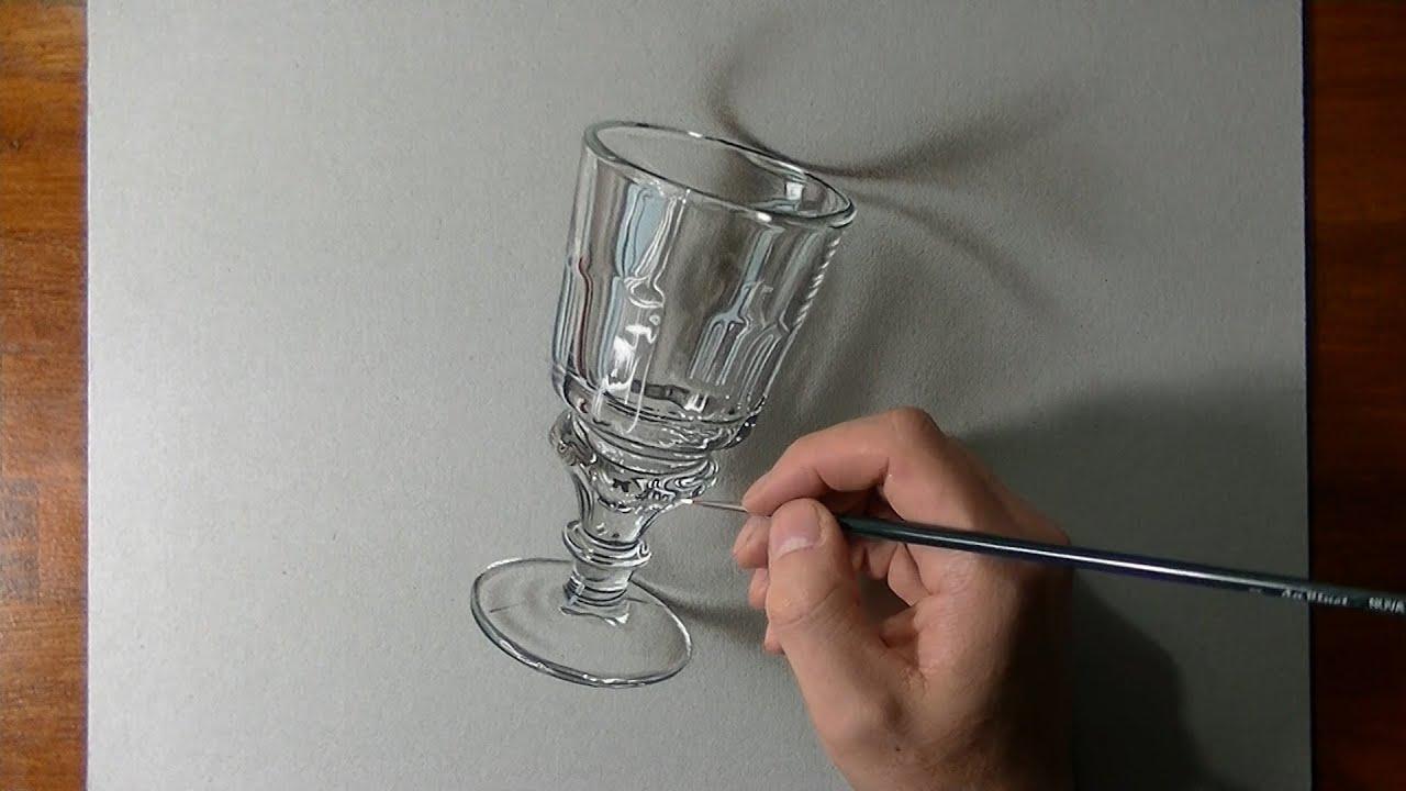 Comment dessiner un verre à absinthe ?