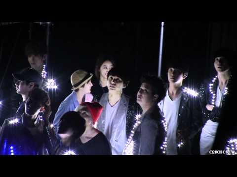 120520 Super Junior Backstage [HD] @ SMTOWN LA