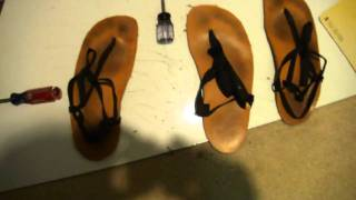Make your own DIY Huarache sandals