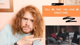 James Smith - Tell Me That You Love Me (Reaction)