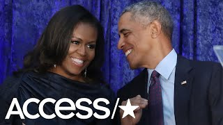 President Obama Thinks Wife Michelle's Official Portrait Is Hot! | Access