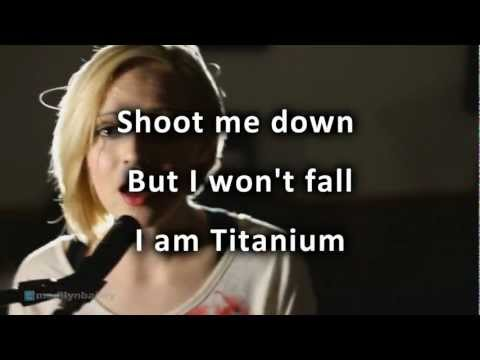 Baixar David Guetta - Titanium ft Sia cover by Madilyn Bailey with lyrics HD