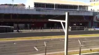 F1 montmelo tests