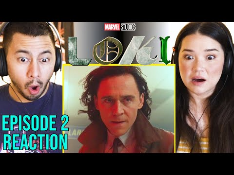 "LOKI   Episode 2 - ""The Variant""   Reaction by Jaby Koay & Achara Kirk!"