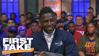 Antonio Brown On Addressing Trade Rumors: 'Steelers For Life' | First Take | February 2, 2017