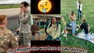 These marriage proposals will make you cry!!😥