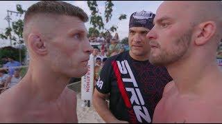 Russian Fighter vs Finland bodyguard, Crazy Fight !!!!