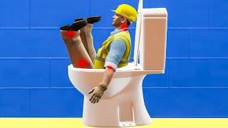 when unclogging a toilet is 1000x more dangerous