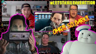 GHOSTBUSTERS  AFTERLIFE Mini Pufts Character Reveal Clip Reaction - Paul Rudd