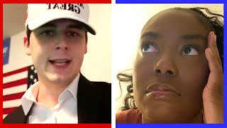 Trump Supporters & Biden Supporters React To The U.S. 2020 Election
