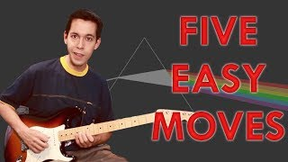How to sound like David Gilmour from Pink Floyd - Lead Guitar Lesson