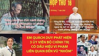 """Lên VCNET.VN đăng bài phát hiện 3 Ủy viên Bộ Chính trị có dấu hiệu vi phạm liên quan đến Vũ """"nhôm"""""""