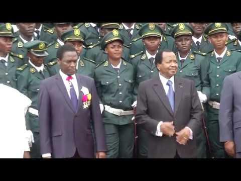 Cérémonie de triomphe de la 35ème promotion de l'Ecole Militaire Interarmées