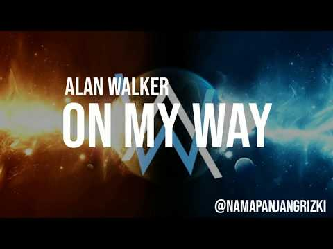 ON MY WAY - Alan Walker (Lyrics) Ft. Sabrina