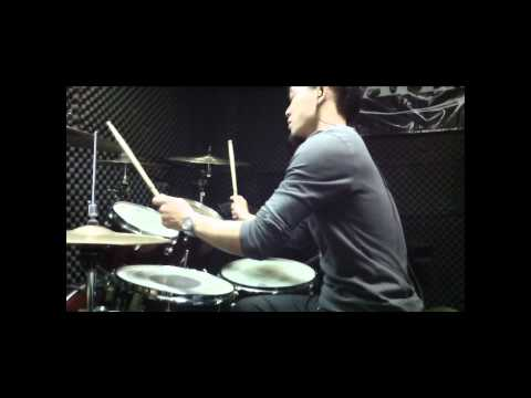 陳勢安-勢在必行 [DRUM COVER] with zoom Q3HD