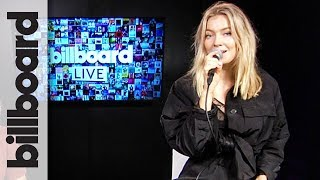 Astrid S - 'Hurts So Good' Live Performance & 'Think Before I Talk' | Billboard