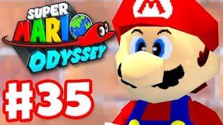 Super Mario Odyssey - Gameplay Walkthrough Part 35 - Mushroom Kingdom 100%! (Nintendo Switch)