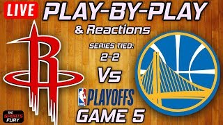Rockets Vs Warriors Game 5 | Live Play-By-Play & Reactions