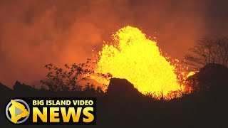 Hawaii Eruption: USGS Maps Active Fissures, Lava (May 23, 2018)