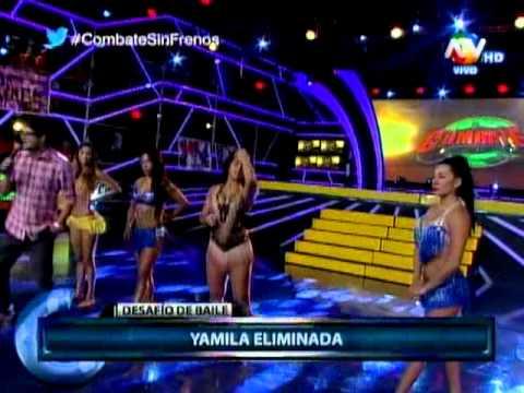 COMBATE:Desafio de baile de mujeres 10-03-2015