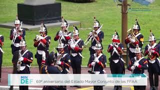 El Ministerio de Defensa conmemoró el 69 Aniversario del Estado Mayor Conjunto de las FFAA