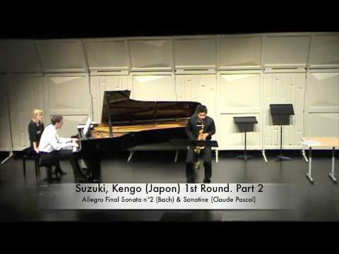 Suzuki, Kengo (Japon) 1st Round. Part 2