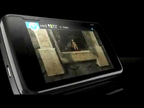 NOKIA N900 GSM CELL PHONE PREVIEW DEMO COMMERCIAL PROMO
