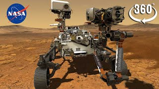 🔴NASA'S Perseverance Rover's First 360 View on Mars
