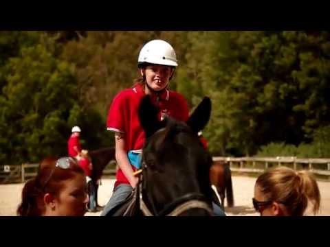 Volunteer story: Horse-lovers love helping people
