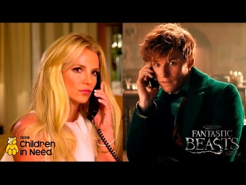 Britney Spears Speaks with Eddie Redmayne: Fantastic Beasts Special