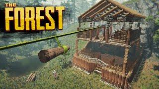 MEGA STORAGE FORT   The Forest Hard Survival S4 Episode 13
