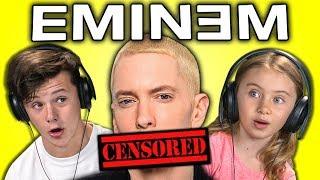 KIDS REACT TO EMINEM - YouTube