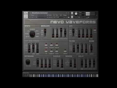 Nevo Analogue Machines Deep Tech Demo, for Kontakt 5 and Logic Pro