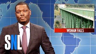 Weekend Update on Woman's Selfie Accident - SNL