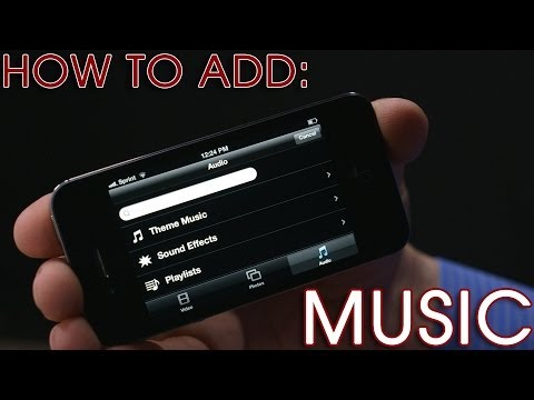 iPhone Video Tip (2 of 4): Adding Music