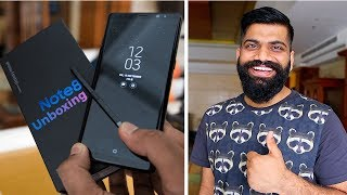 Samsung Galaxy Note 8 Unboxing and First Look 🔥 - Indian Unit