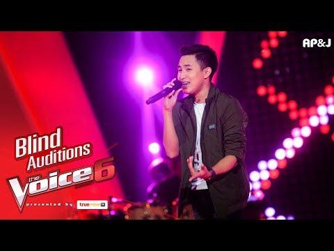 แจ๊คกี้ - พูดทำไม - Blind Auditions - The Voice Thailand 6 - 3 Dec 2017